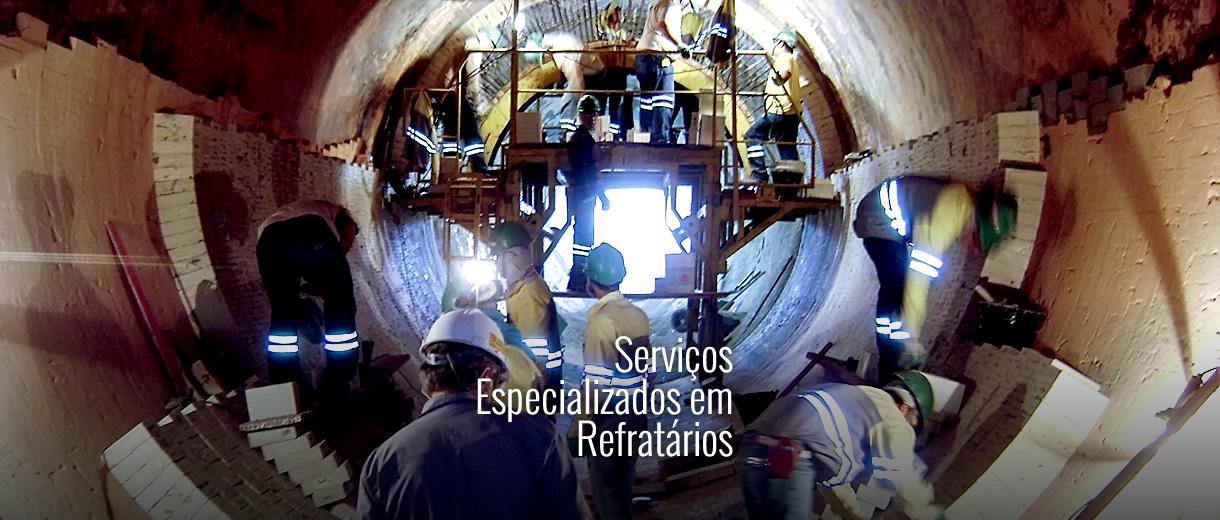 Serviços Especializados em Refratários